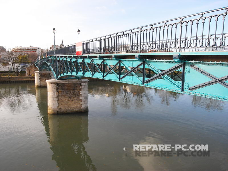 Le Perreux sur Marne, Passerelle de Bry sur Marne